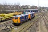 19 February 2015 :: Another view of 73962 and 73961 at Tonbridge showing the redesigned front ends of these locomotives