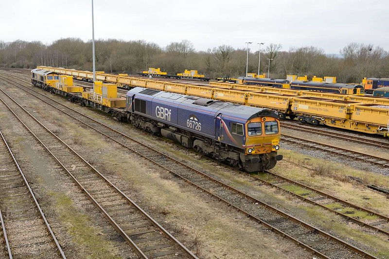 19 February 2015 :: Another SITT at Tonbridge with 66726 and 66744