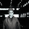 JOED VIERA/STAFF PHOTOGRAPHER- Lockport, NY-Burt Malcolm stands over Allegheny Technologies' steel plant. Malcom is retiring after working for the plant since it was known as Simonds Steels 53 years ago. Friday, January, 30, 2015
