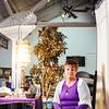 JOED VIERA/STAFF PHOTOGRAPHER- Lockport, NY-Juanita Szfranski a local psychic poses for a photo at her space. Thursday, January, 29, 2015