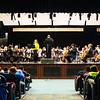 JOED VIERA/STAFF PHOTOGRAPHER- Lockport, NY-The Buffalo Philharmonic Orchestra plays for students at Lockport High School. Tuesday, January, 27, 2015