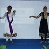 Fusion Dance by Geetika and Sophia (Stage 9) to mark the opening of the felicitation program.