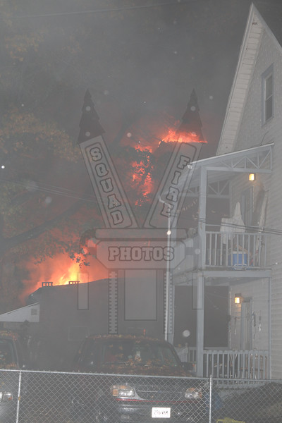 Took this from a rear yard on Annawan St
