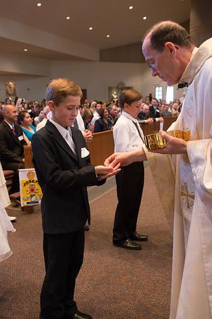 First Communion- April 19, 2015