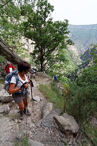 Carantça,  Parcours aller par le Roc de la Madrieu