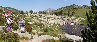 Bouillouses-Aude,  Val de la Grava et la Têt