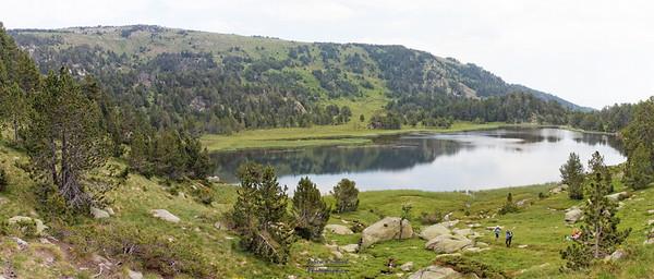 Bouillouses-Aude,  Lac d'Aude