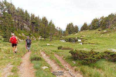 Bouillouses-Aude,  Retour vers la route des Bouillouses