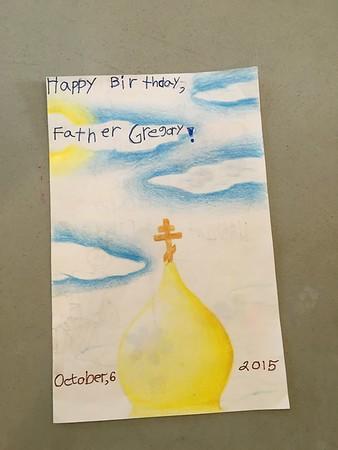 Fr. Gregory's Birthday
