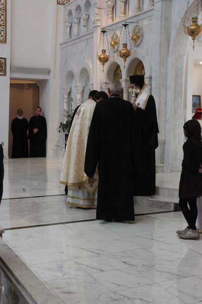 Fr. Teodor Petrutiu Elevation to Protopresbyter of the Ecumenical Throne