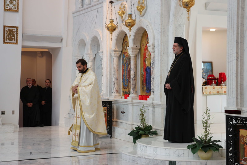 Fr. Teodor Petrutiu Elevation to Protopresbyter of the Ecumenical Throne