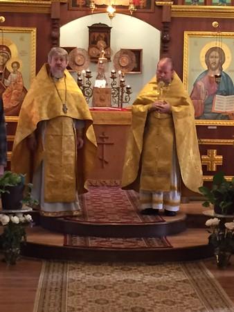 Fr. Sergei Kiselev Visit St. Vladimir Church