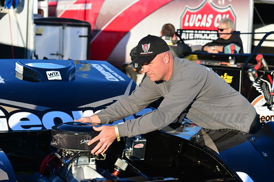 Steve Francis' crew chief - Anthony Burroughs