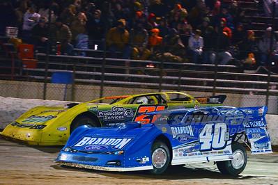 40B Kyle Bronson and 21JR Billy Moyer, Jr.