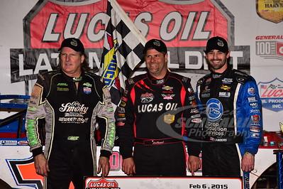Scott Bloomquist, Earl Pearson, Jr. and Jared Landers
