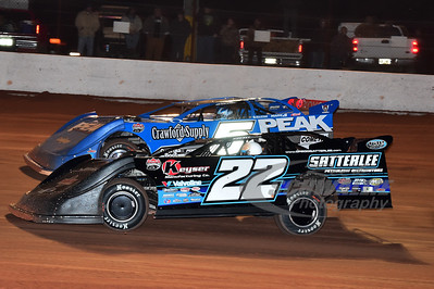 22 Gregg Satterlee and 5 Don O'Neal