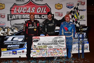 Earl Pearson, Jr., Jonathan Davenport and Brandon Sheppard