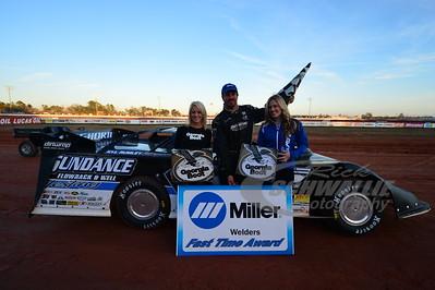Jonathan Davenport won the Miller Welders Fast Time Award