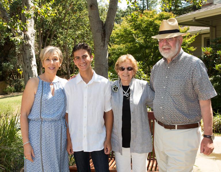 Caroline, Ben, Terry, and Edmund