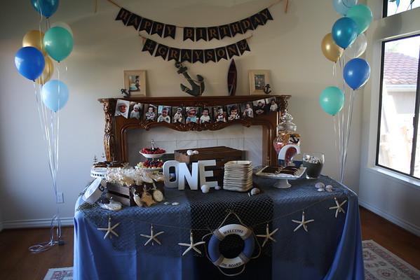 Grayson's 1st Birthday