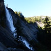 Nevada Falls at 7:40 am