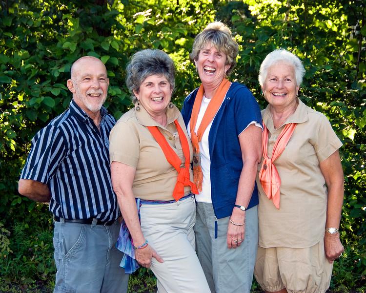 Bill, Beryl, Susie and Nancy