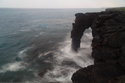 Holei Sea Arch, Hawaii Volcanoes National Park