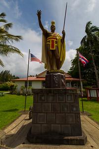 King Kamehameha statue, Hawi, HI