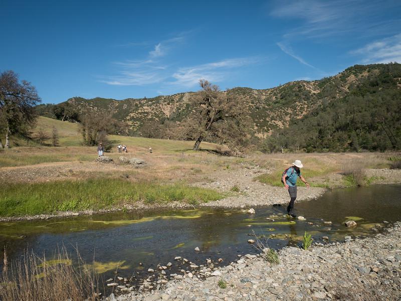 Fording Coyote Creek