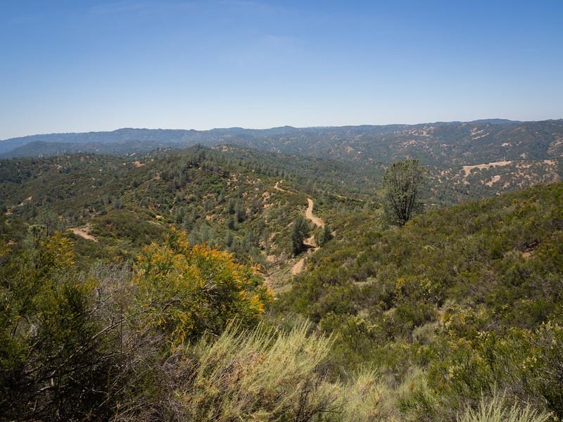 Toward Pacheco Ridge