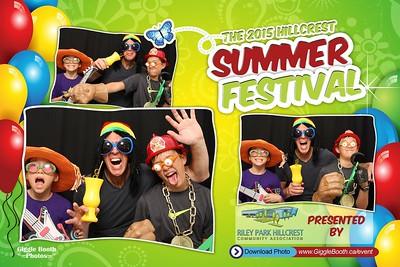 Hillcrest 2015 Summer Festival