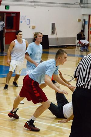 Hillsdale Alumni Basketball Game 2015