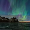 Aurora over Vesturhorn