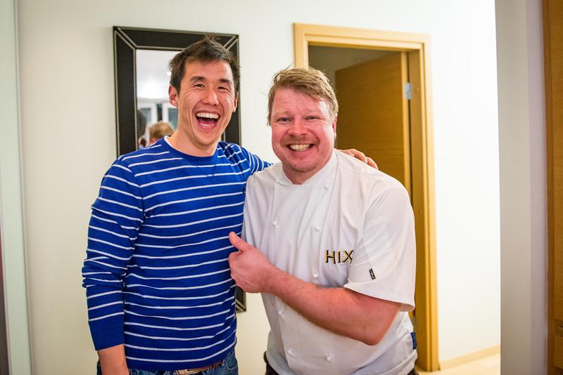 Alan and Kimmo had some fun!