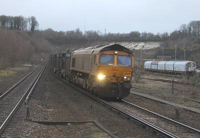 66716 Micheldever 03/01/15 4Y19 Mountfield to Southampton Western Docks