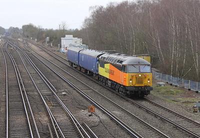 56078 Worting Junction 05/01/15 5Z47 Eastleigh to Washwood Heath