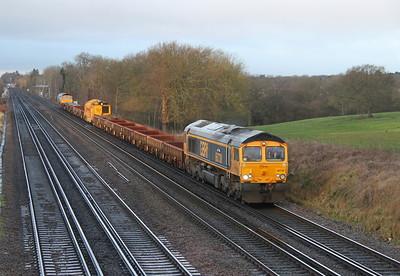 66738 Potbridge 14/01/05 6G30 Hamworthy to Woking