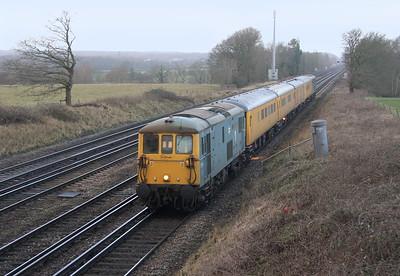 73119 Potbridge 15/01/15 1Q44 Eastleigh to Hither Green