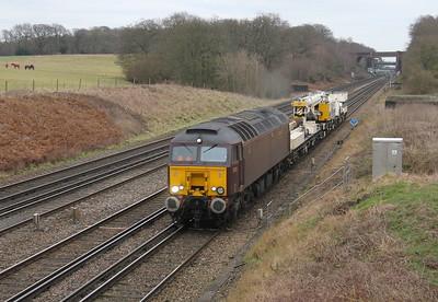 57313 Potbridge 05/01/15 6Z00 Hornsey to Eastleigh