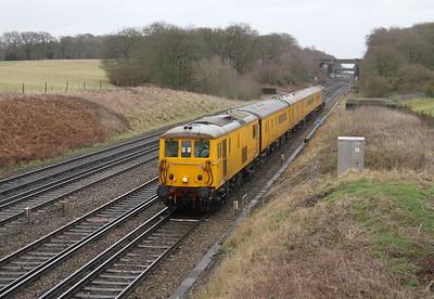 73138 Potbridge 12/01/15 1Q40 Hither Green to Eastleigh