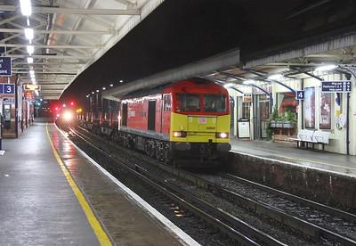 60059 Basingstoke 23/01/15 6E15 Eastleigh to Scunthorpe