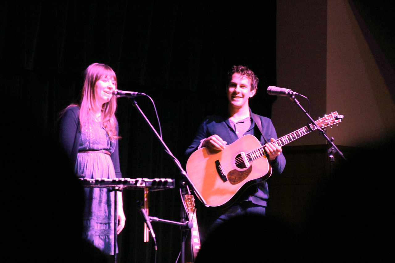 Jenny and Tyler perform at The Gathering. Photo by: Megan Hartman
