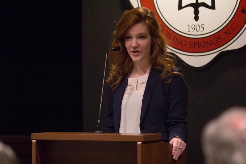 Anna Kullmar, Lambda Pi Eta Vice President.