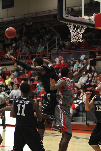 Gardner-Webb men's basketball loses Wednesday night to High Point. Final score 84-72.