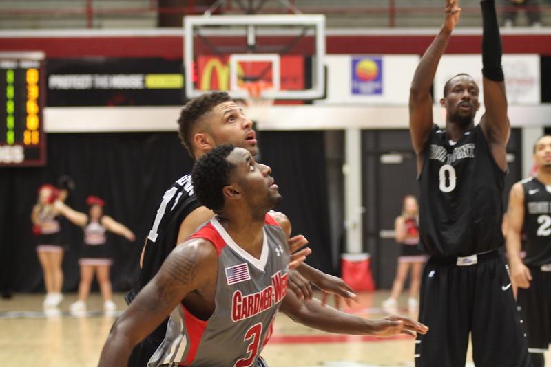 Gardner-Webb men's basketball loses Wednesday night to High Point. Final score 84-72.