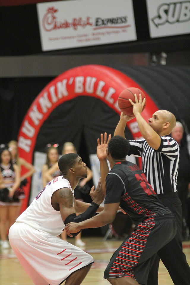 GWU men's basketball trumps Radford 88-85 after going into double overtime. This game was shown on ESPNU.