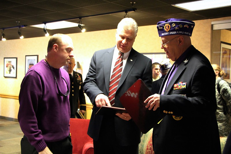 The Military Order of the Purple Heart Ceremony