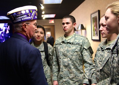 The Military Purple Heart Ceremony