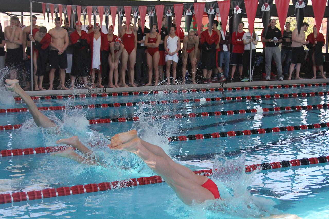 On Saturday, January 31st, GWU men and women's swim takes on Davidson College.