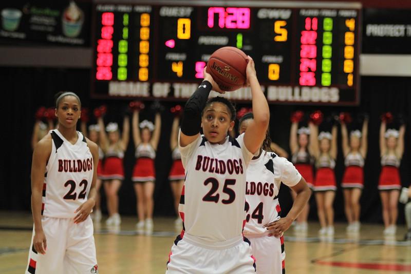 GWU women's basketball took on Charleston Southern and won 70-54.